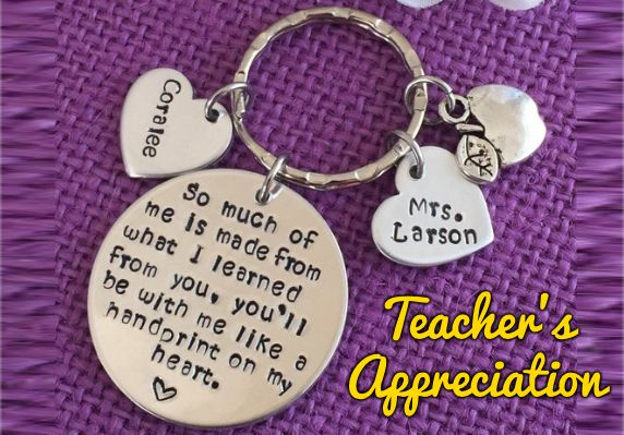 Perfect GIFT To Give To Teachers who work hard to inspire your children!