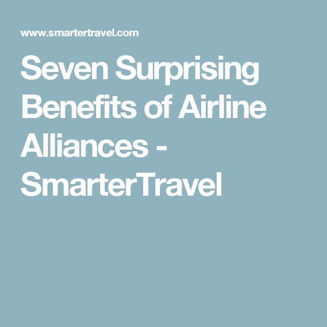 Seven Surprising Benefits of Airline Alliances - SmarterTravel