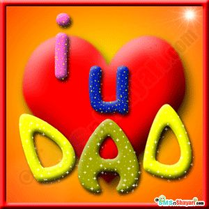 123 greetings father's day for son