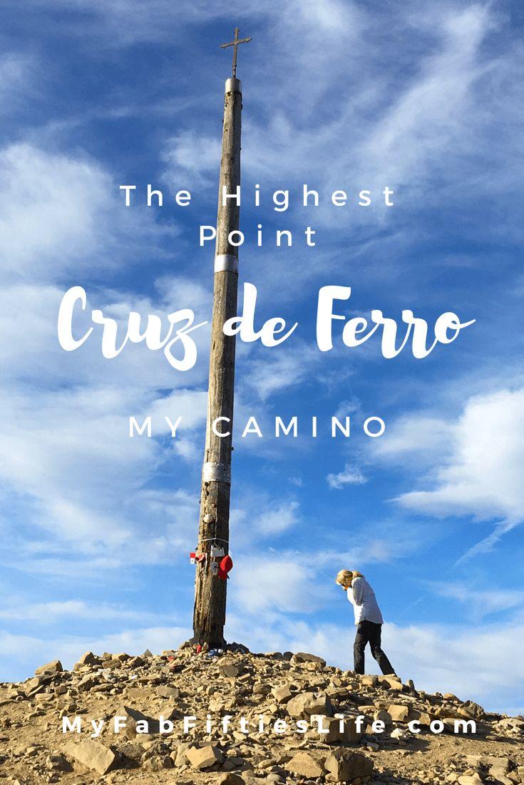 My Fab Fifties Life -   The Highest Point on My Camino – Cruz de Ferro