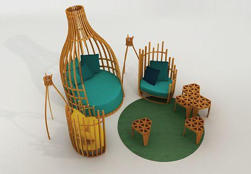 Muebles de madera con diseños orgánicos - Decoratrix | Blog de decoración, interiorismo y diseño