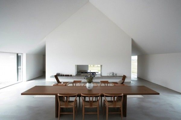 Interior of 'Baron House' (2005), Sweden by John Pawson