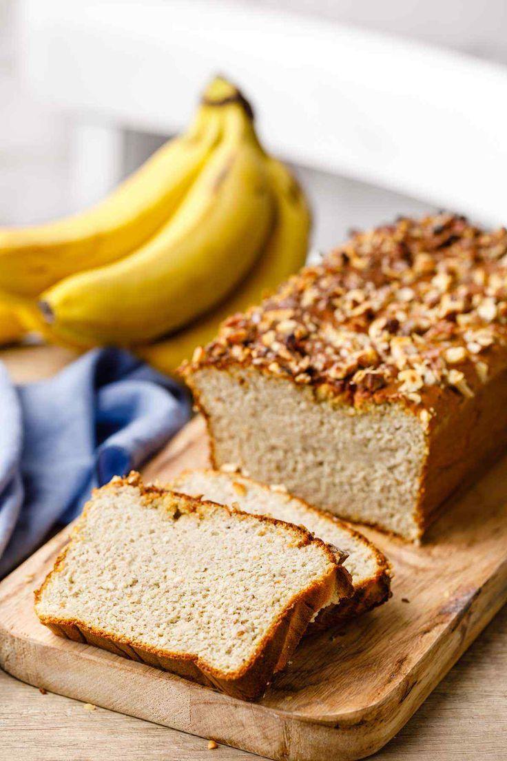 Chocolate chip walnut banana bread