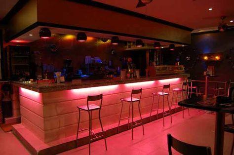 """Terrace / Bar Interior Design - Silvan Francisco, """"El Auditorio"""" Príncipe de Vergara Street, in Madrid. 2006"""
