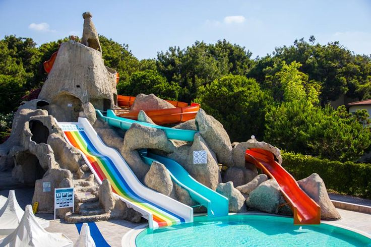 Aquapark & water slides at Turquoise Hotel.