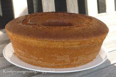 Koekje van eigen deeg: Wonderpan: Absolutely the best yellow cake