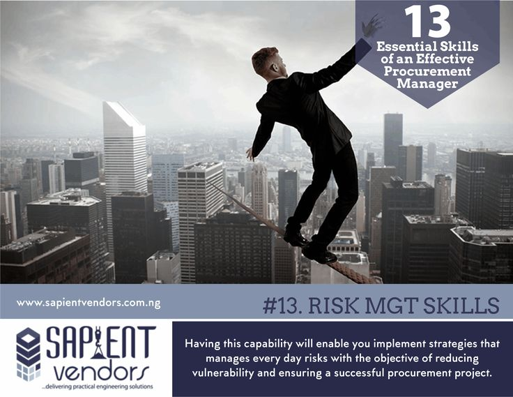 26 best thesapientinsight nigeria construction tips images on 13 essential skills of an effective procurement manager 13 risk management skills fandeluxe Images