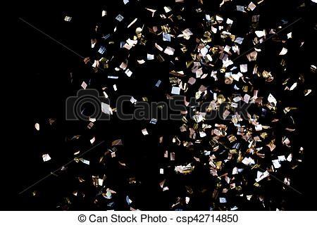 Resultado de imagen para confeti dorado