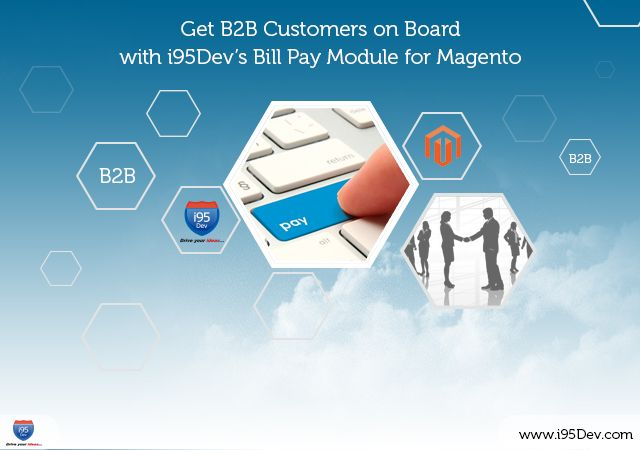 i95Dev's Bill Pay module was designed to solve the problem of pending payments using Magento while syncing this information back to the Dynamics GP system.
