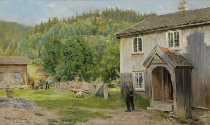 Gerhard Munthe (Norway, 1849-1929): Ulvin (1885)