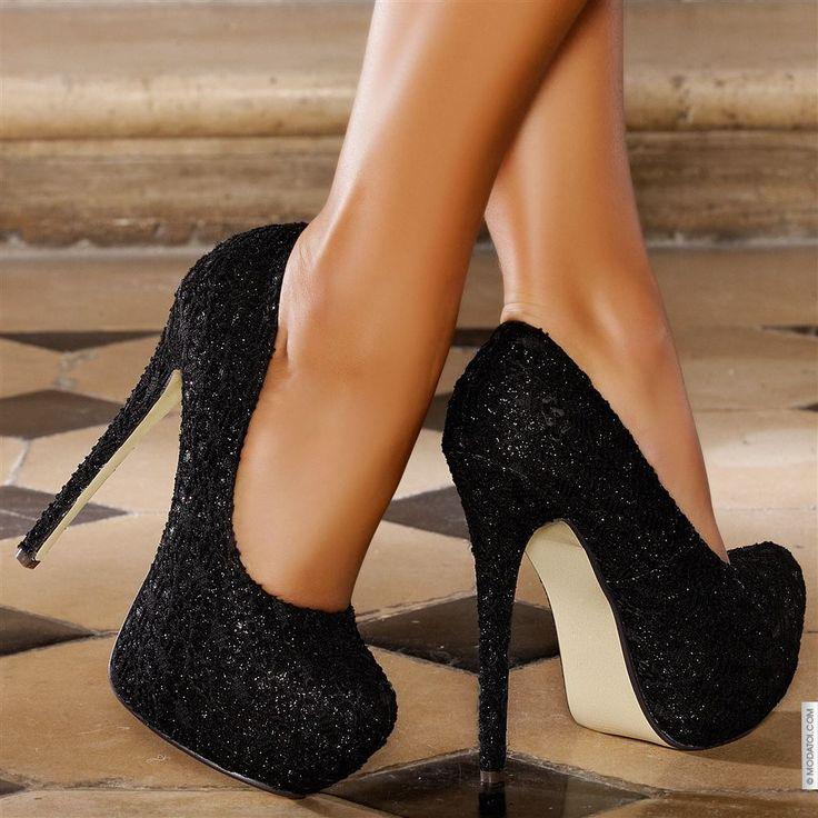 Escarpins femme Noir taille 38, achat en ligne Escarpins femme sur MODATOI