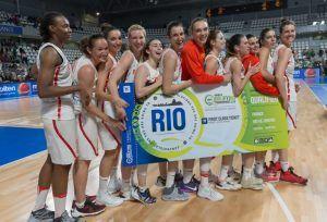 La selección española de baloncesto femenino estará en los Juegos de Río 2016