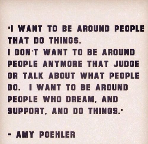 Yes Amy, Yes!