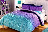 walmart navy blue purple lavender aqua white ombre bedding teen at DuckDuckGo