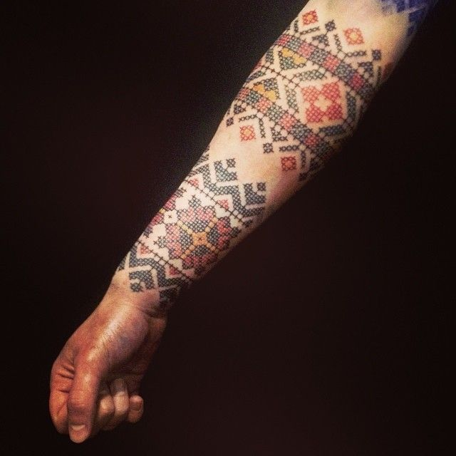 Cross Stitch Tattoo: 17 Best Images About Cross Stitch
