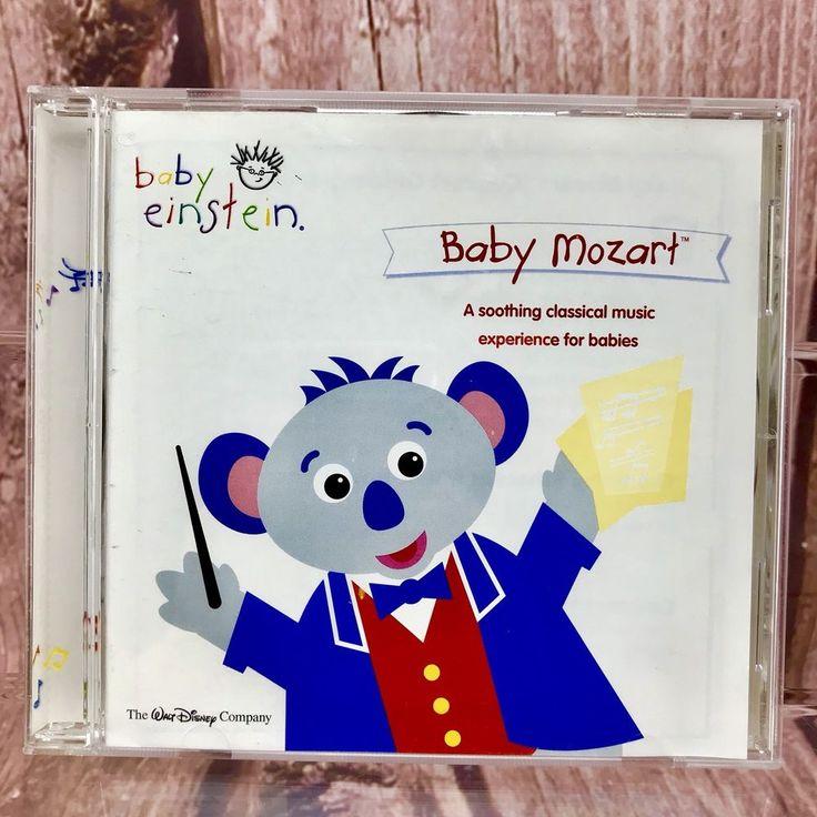 Walt Disney company Baby Einstein Baby Mozart CD 15 Songs concert baby infant