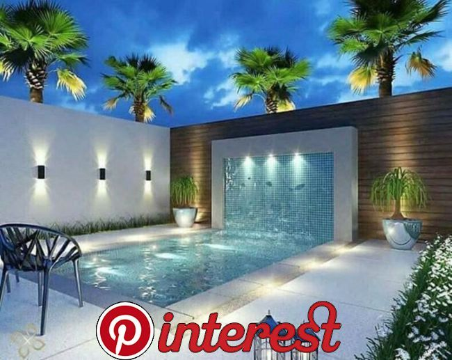 35 Trending Small Pool Designs For Your Backyard Having A Pool In The Home Could Really Improve Lif Pool Design Modern Small Pool Design Small Backyard Pools