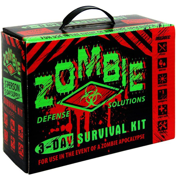 Pin for Later: 27 Halloween Gifts That Are Under $50 Zombie Survival Kit A zombie survival kit ($30) could come in handy at any time, because you just NEVER KNOW when the apocalypse will hit.