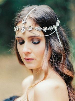 Lindsay Marie Design Headpiece | KleinfeldBridal.com