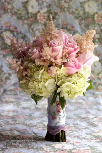 martha stewart astilbe | Bouquets and Centerpieces.....bouquet just for me, Astilbe plant only for bridesmaids