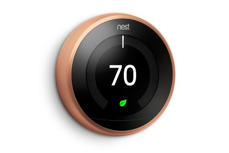 Nest's smart thermostat now comes in a range of colors (updated)