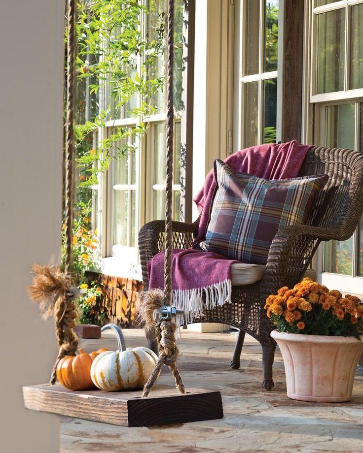 Autumn Porch by Carolyn Malin Decor, Autumn home