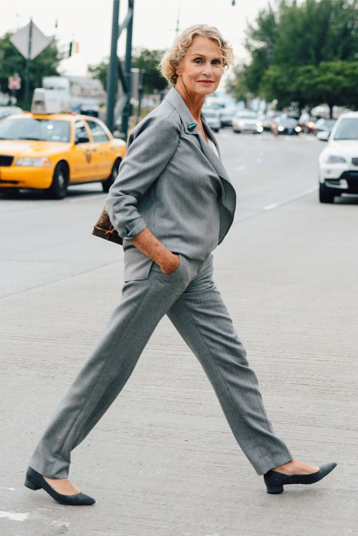 Lauren Hutton remains timeless.  Her relaxed suiting exudes everyday elegance.  Be inspired and shop here: http://rstyle.me/n/reu5ubgbrf