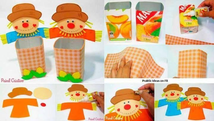 kendin yap yağ tenekesinden kutu :bitmiş yağ tenekelerinizi atmayın .onun yerine kumaşlar boyalar keçeler simler düğmeler kullanıp bu şekilde güzel bir sepet yapabilirsiniz :)