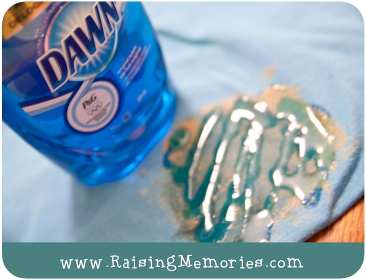 Raising Memories: Tutorial Tuesday: Remove Sticker Residue from Clothes
