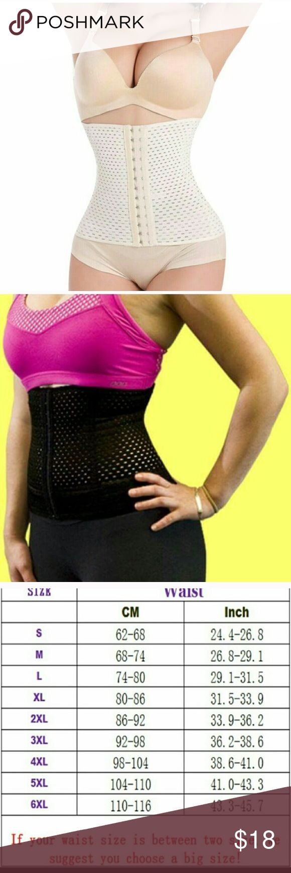 4steel boning waist trainer 1.Rows of adjustable hooks  2. Lightly Boned structure  (no imitating) 3. High compression material  4.Postpartum waist trainer   BENEFITS   1.KEEPS STOMACH/WAIST REGION TIGHT 2.AIDS IN WEIGHT LOSS  3.SUPPRESS 4.IMPROVES POSTURE  5.Encourage respiration   Top quality Body Waist Trainer Shapers Belt Fitness Fat Burning Girdle Body Control Cincher Waist training corset minceur(4 Steel Bone)HUNGER Other