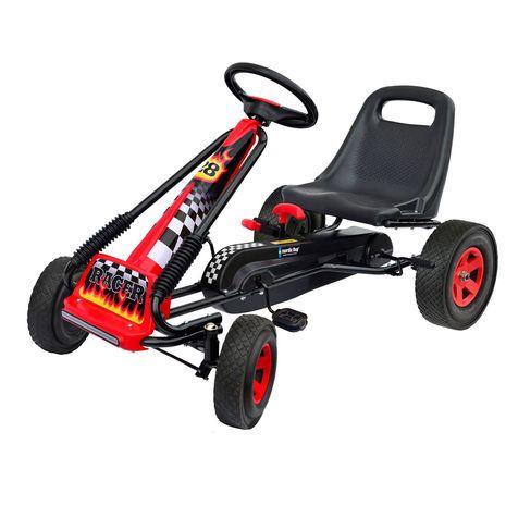 Vehicule pentru copii :: Vehicule cu pedale :: Karturi :: Kart cu pedale Go Kart Nordic Hoj