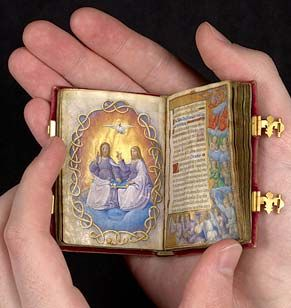 The Prayer Book of Queen Claude of France (wife of Francis I), circa 1517.  Each page is fully viewable online...
