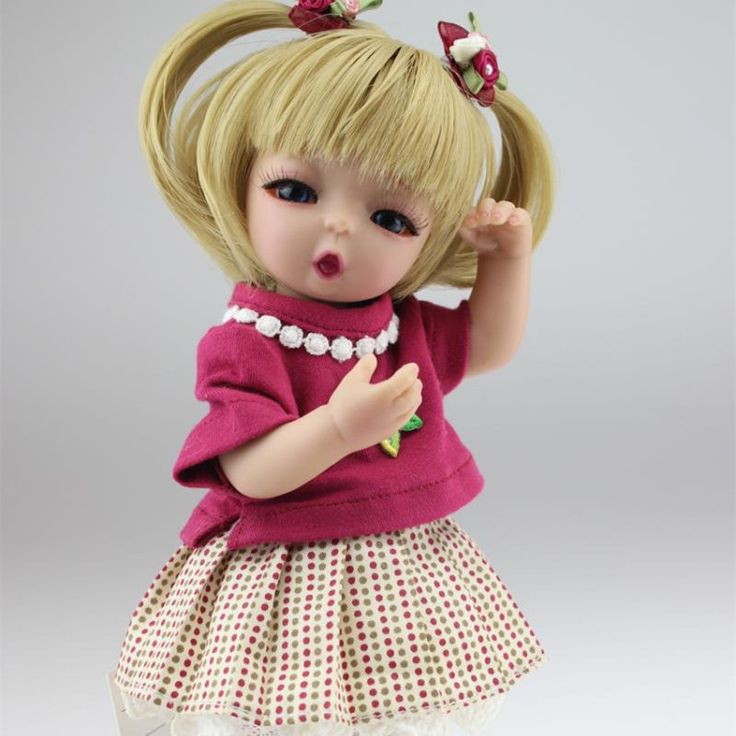 "25 cm Full Silicone Reborn Baby Dolls 10"" BJD/SD Little Girl Toys Lifelike Reborn Babies Girls Cheap Reborn Baby Dolls For Sale"