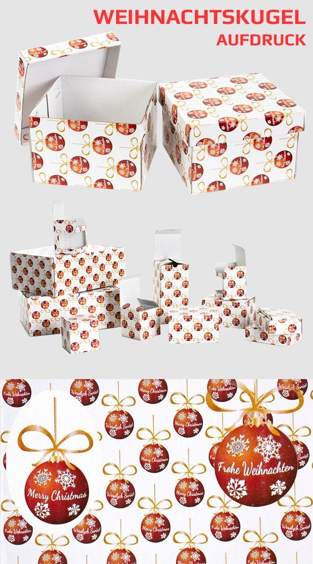 Diese Kartons eignen sich hervorragend für die Verpackung und sicheren Versand von Weihnachtsgeschenken aller Art wie z.B. CDs, DVDs, Blu-Rays.  #karton #verpackung #shachtel