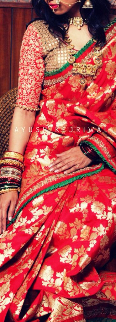 Bridal wear by Ayush Kejriwal For purchase enquires email me at…