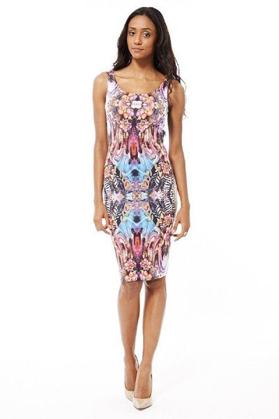 Detailed Cut-out Bodycon Dress �19.99