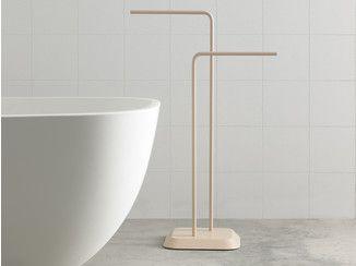 Badezimmer handtuchhalter ~ Die besten handtuchhalter metall ideen auf