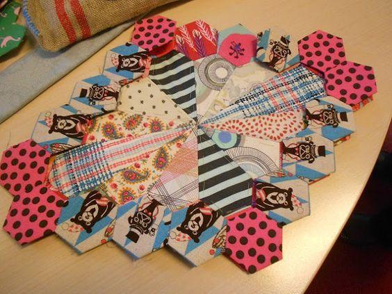 "Supergoof Quilts: ""Margaret Sampson-George"" | Hexagons Make Me ..."