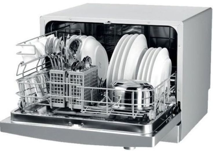 INDESIT ICD661 Freestanding Compact Tabletop Dishwasher White