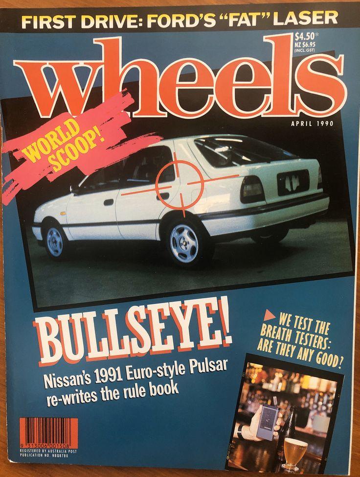 April 1990 wheels magazine 30th birthday gift idea for