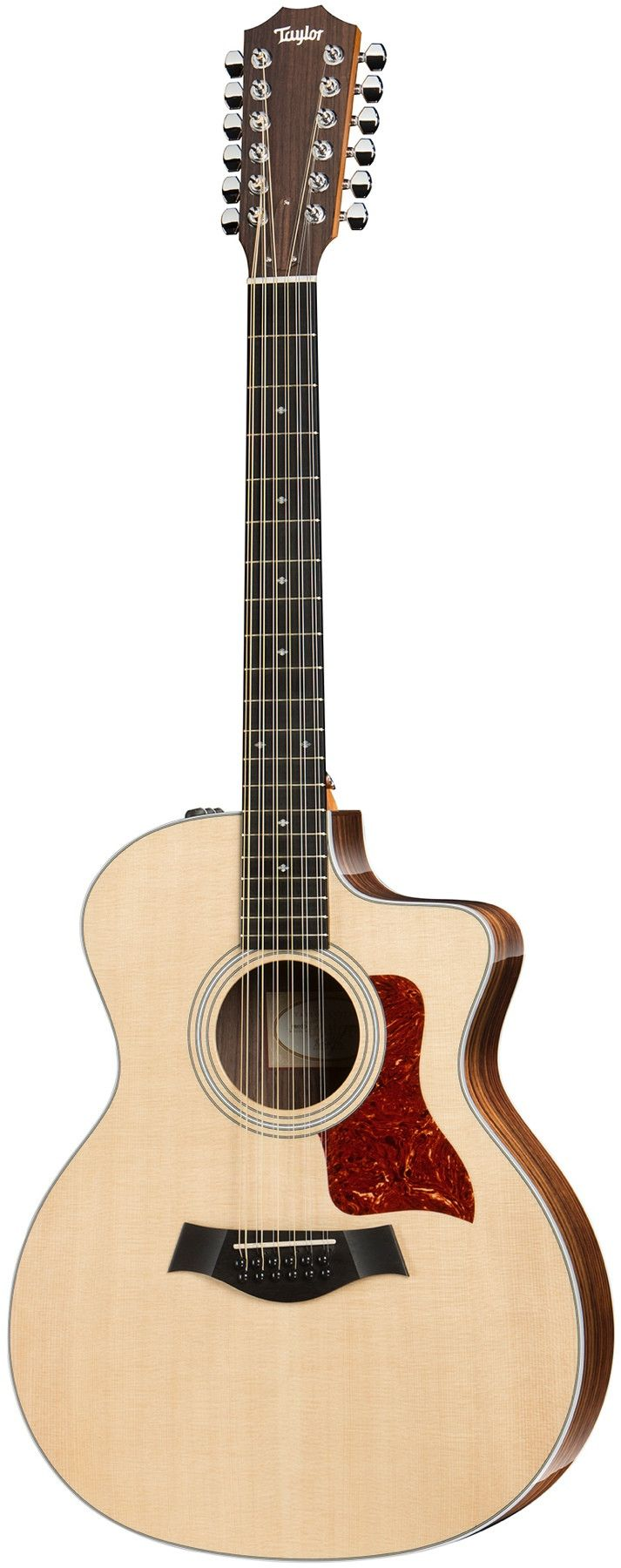 A Great Foundational 12-String Taylor's 254ce DLX is a great option for someone looking to get into playing a 12-string. Layered sides and back make for a durable instrument, while adding resistance t