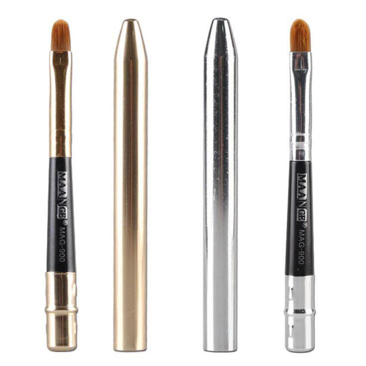 GRACEFUL Portable Hot Makeup Powder Foundation Eyeshadow Eyeliner Lip Brush Tool Makeup Brush JUN10