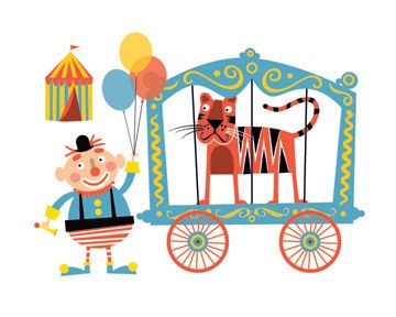Circus by Ed Miller Design, via Behance