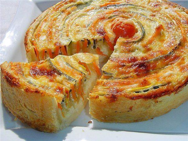 Картинки по запросу овощной пирог