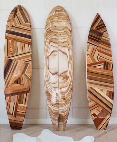Wooden Surf boards