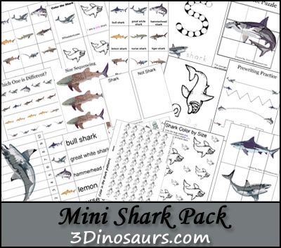 Free Shark Printable Pack - Money Saving Mom®