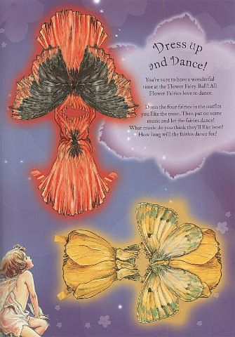 FLOWER FAIRIES Paper Dolls and Flower Fairies Friends from Penguin Group published 2005. Front and Back Designs for Dolls and Dresses 1