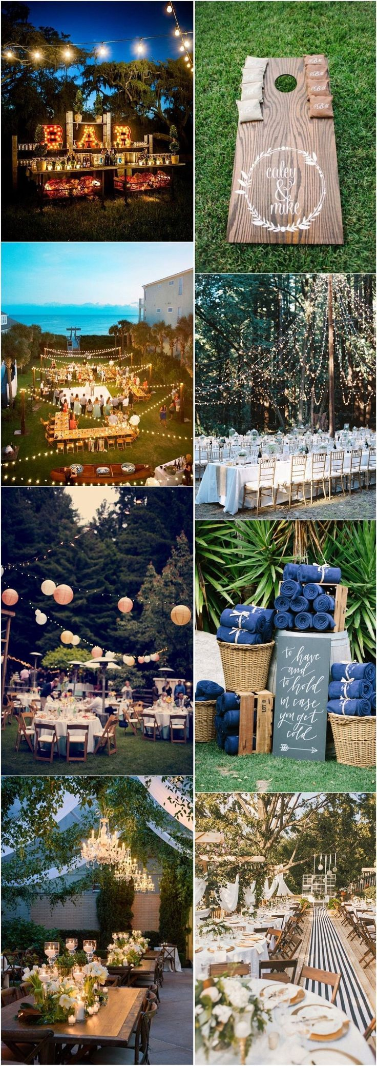 Wedding Decorations » 22 Rustic Backyard Wedding Decoration Ideas on A Budget » ❤️ More: http://www.weddinginclude.com/2017/08/rustic-backyard-wedding-decoration-ideas-on-a-budget/ #budgetweddingdecorations #weddingplanningonabudget #weddingdecoration