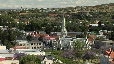 The beautiful town of Graaff-Reinet in the Eastern Cape
