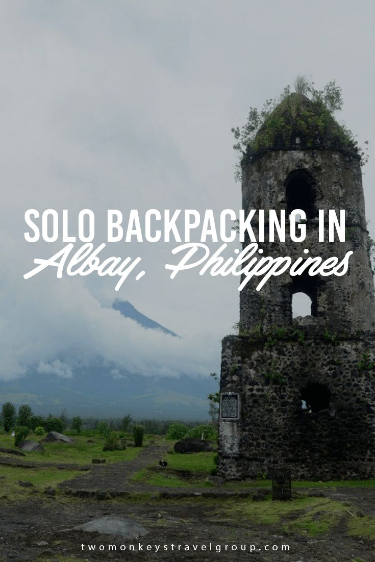 Solo Backpacking in Albay, Philippines This breathtaking view of Mount Mayon jumpstarted my first ever solo trip for the next couple of days and the excitement was really hard to contain. Words failed me, my knees gone jelly and my heart was filled with different emotions rushing in all at the same time!